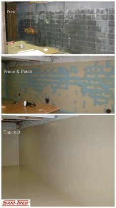 Sani Tred Is A Basement Waterproofing Sealing System Which Retains Negative Hydrostatic  Pressure And Stops