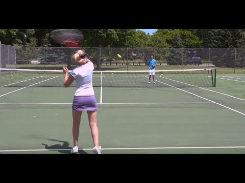 Massive Forehand Topspin Tennis Lesson Youtube Tennis Lessons Tennis Serve Tennis
