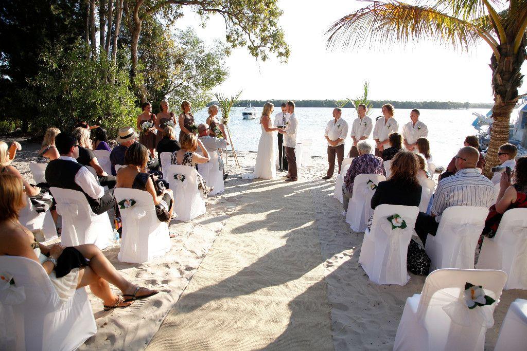 wedding receptions gold coast qld%0A Our wedding venue  South Stradbroke Island   An Island Hideaway