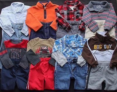 13f386b8d794 Baby-Boy-18-18-24-months-Outfits-Fall-Winter-Clothes-Lot Here is 18 ...