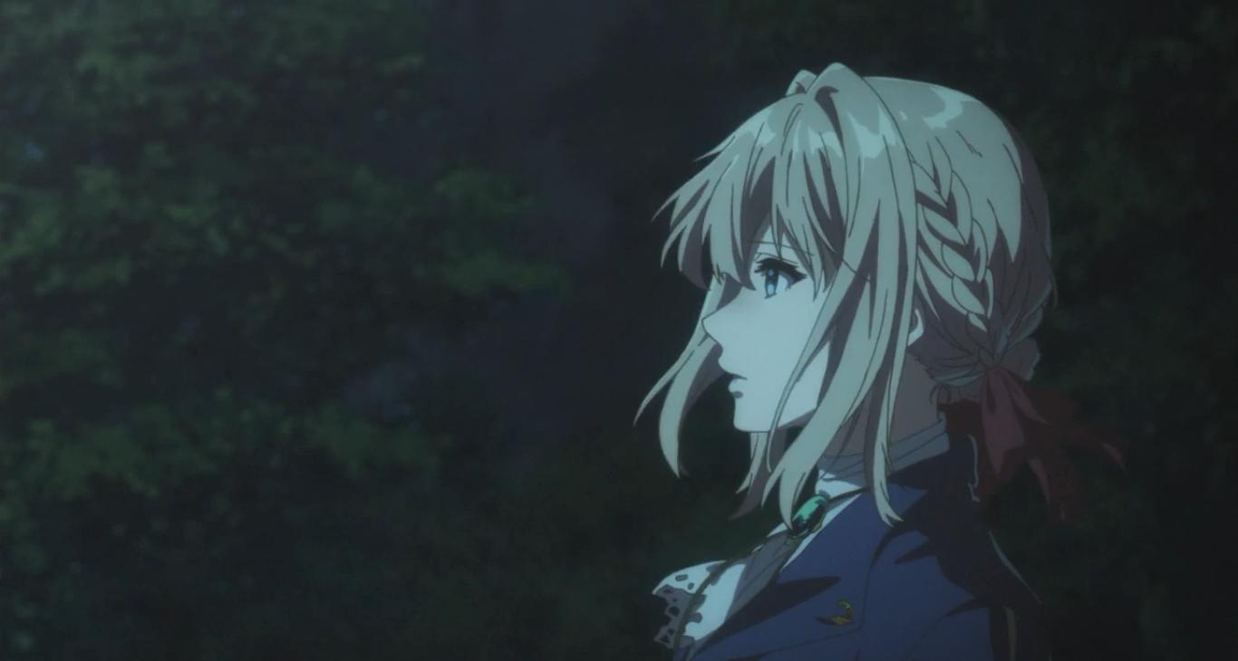 Аниме Виолетта Эвергарден, 4 серия Anime Violet