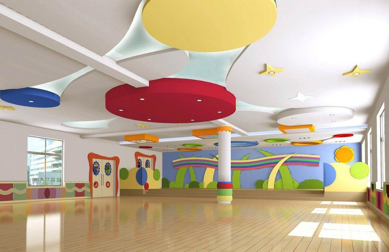 Banquet hall reception area download 3d house - Kindergarten Reception Room Design Render Download 3d House