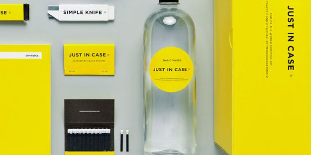 an end of the world survival kit creative pinterest packaging