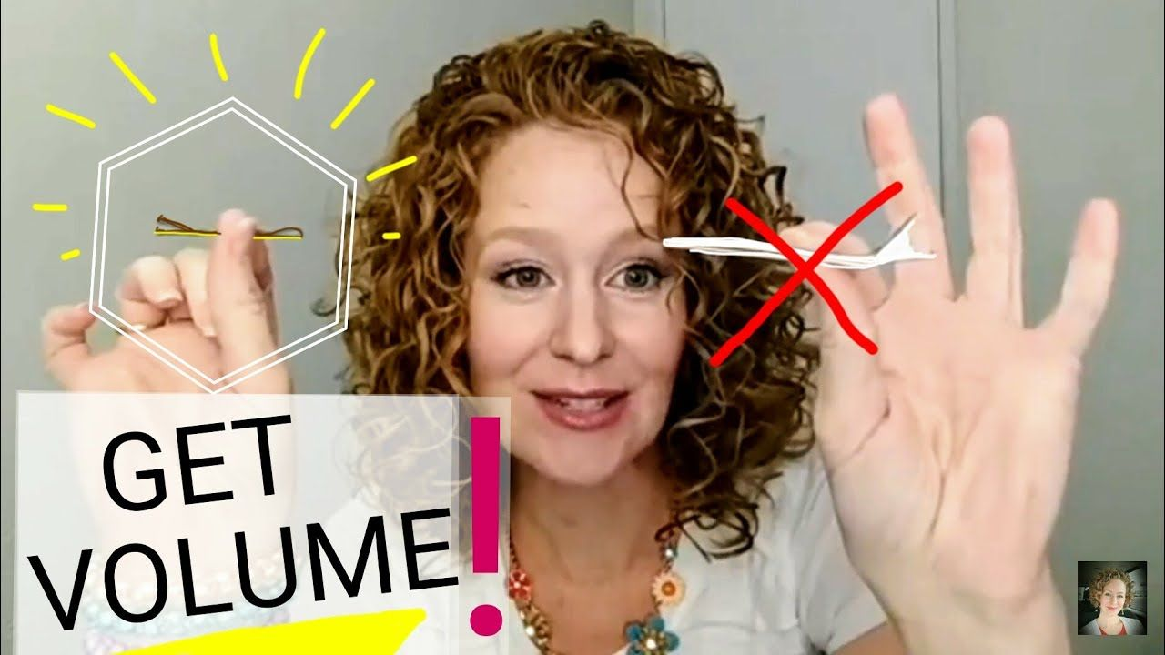 How to fix flat roots quick volumizing pin trick curly