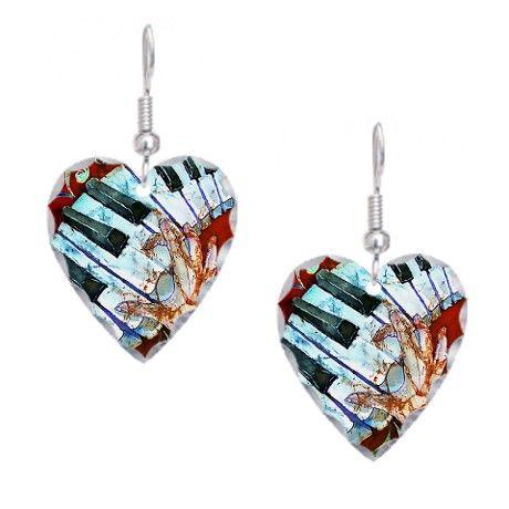 piano-crazy-fingers2-34x3-20su Earring Heart Charm