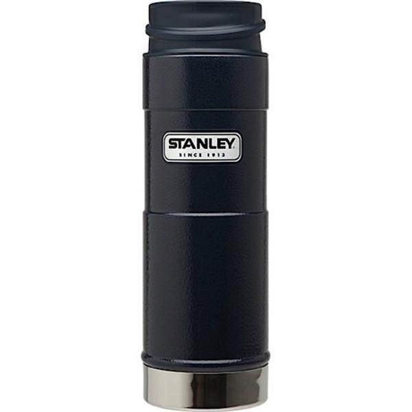 Stanley One Hand Vacuum Mug Navy Hand vacuum, Mugs