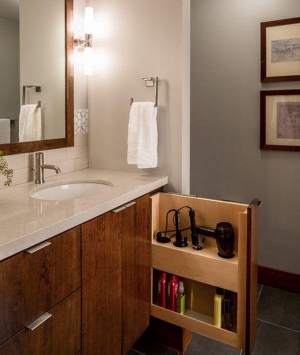 15 sencillos tips para que tu ba o luzca espectacular muebles ba os decoracion ba os y casas - Mueble bano estrecho ...