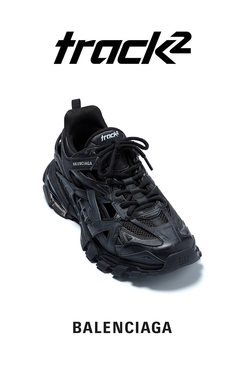 Balenciaga Track Trainers Grey 11127141 italist