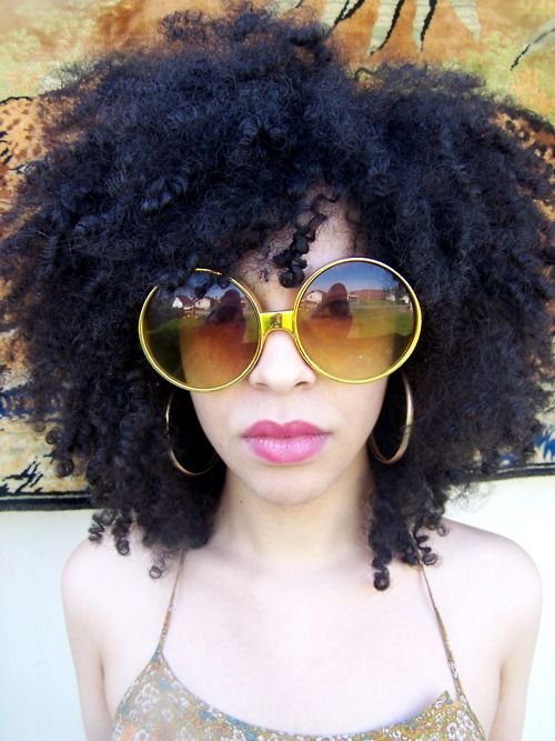 Hautecoif Hair Afro Frau Und Natur