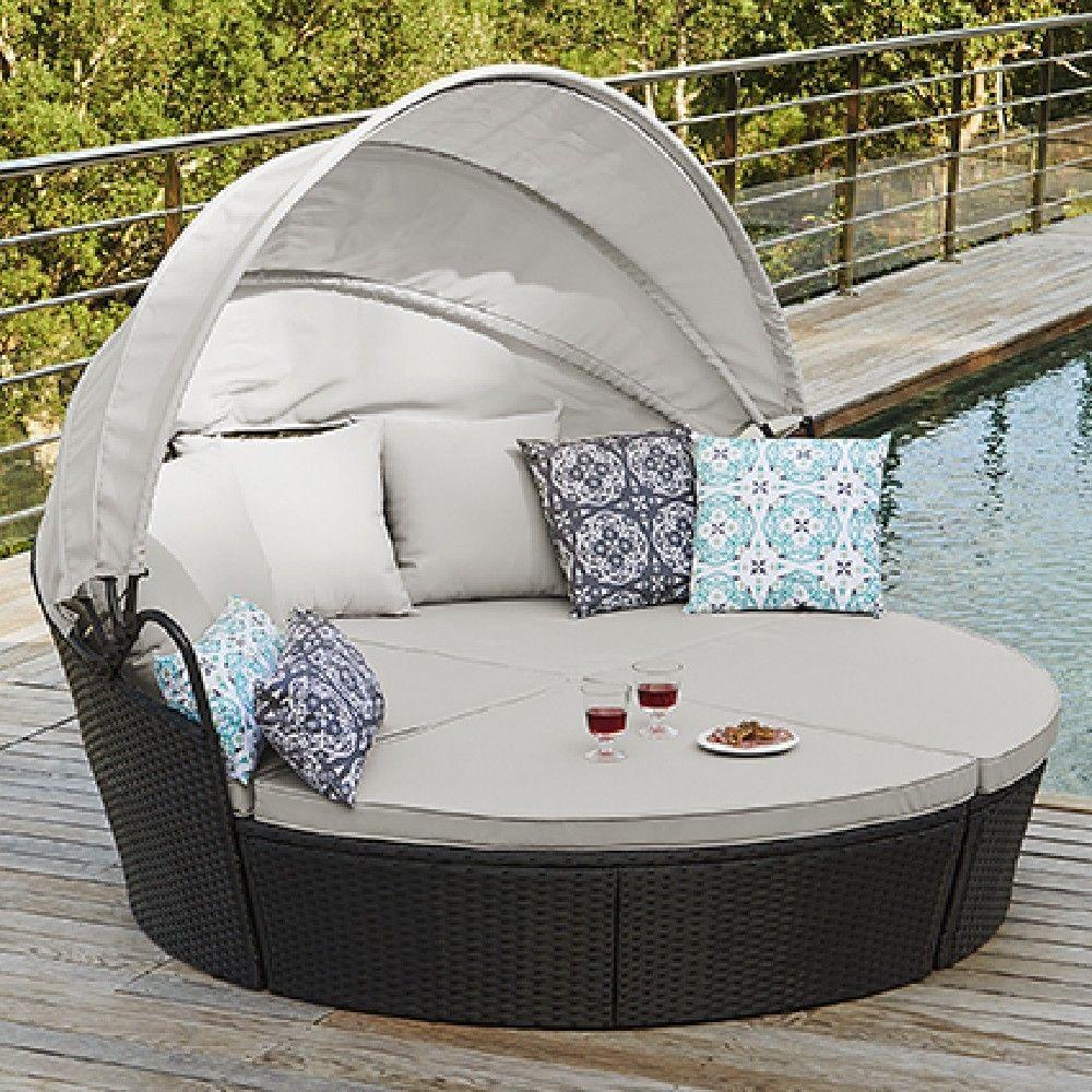 Canapé-lit d\'extérieur 2/3 personnes Vegas | MOBILIER DE JARDIN
