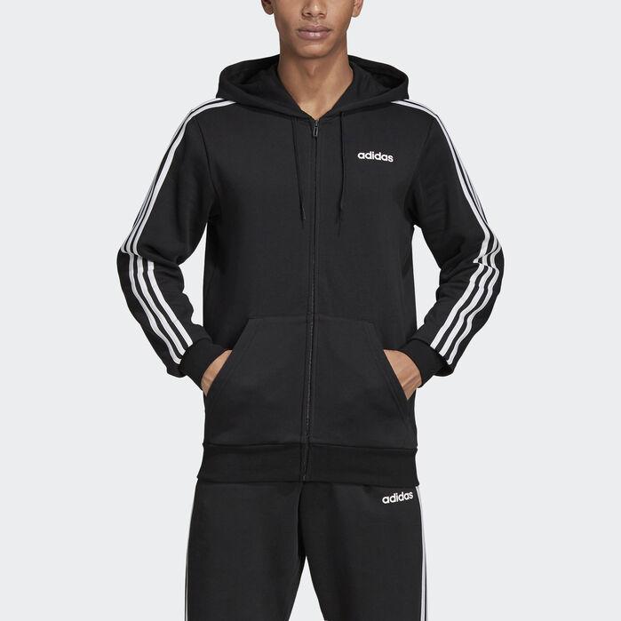 Ganska nice Vanliga skor nya anländer Essentials 3-Stripes Fleece Hoodie | Fleece hoodie, Adidas hoodie ...