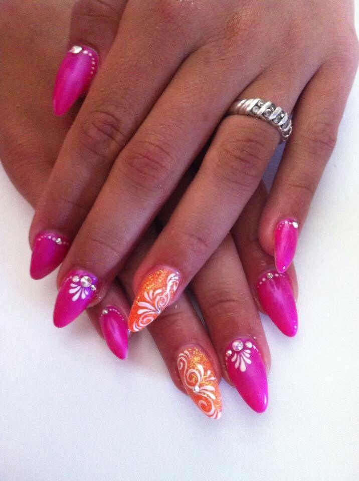 Roze kleure is heel leuk