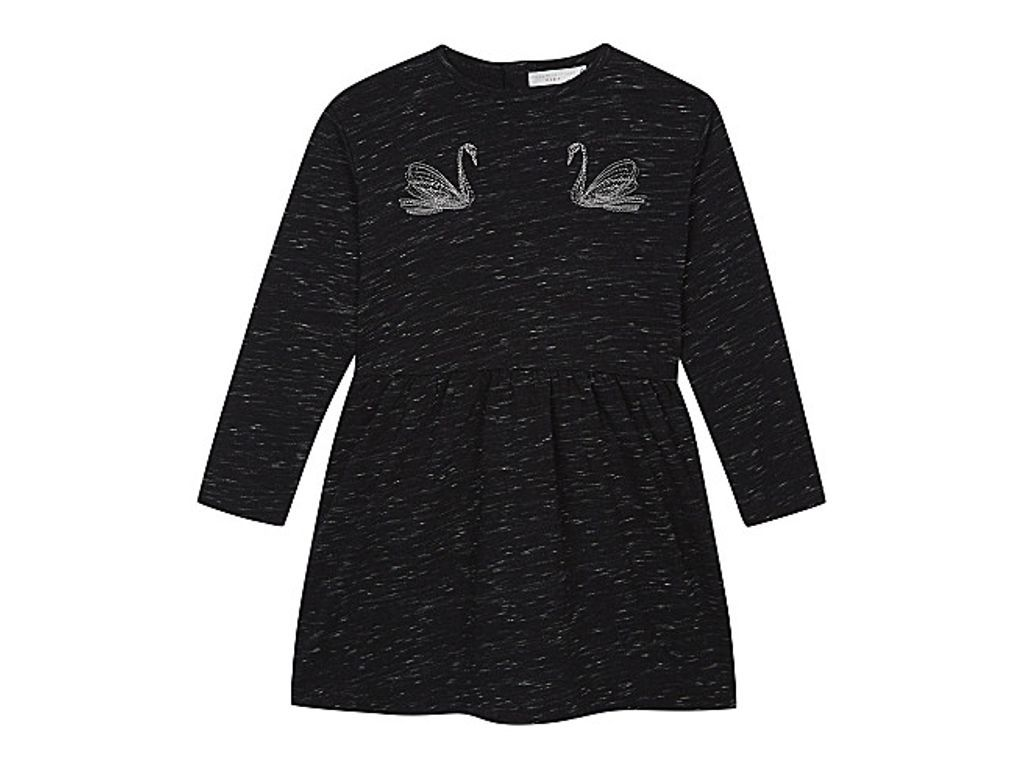 8a66f145 STELLA MCCARTNEY Marion swan cotton dress 4-14 years | Other ...