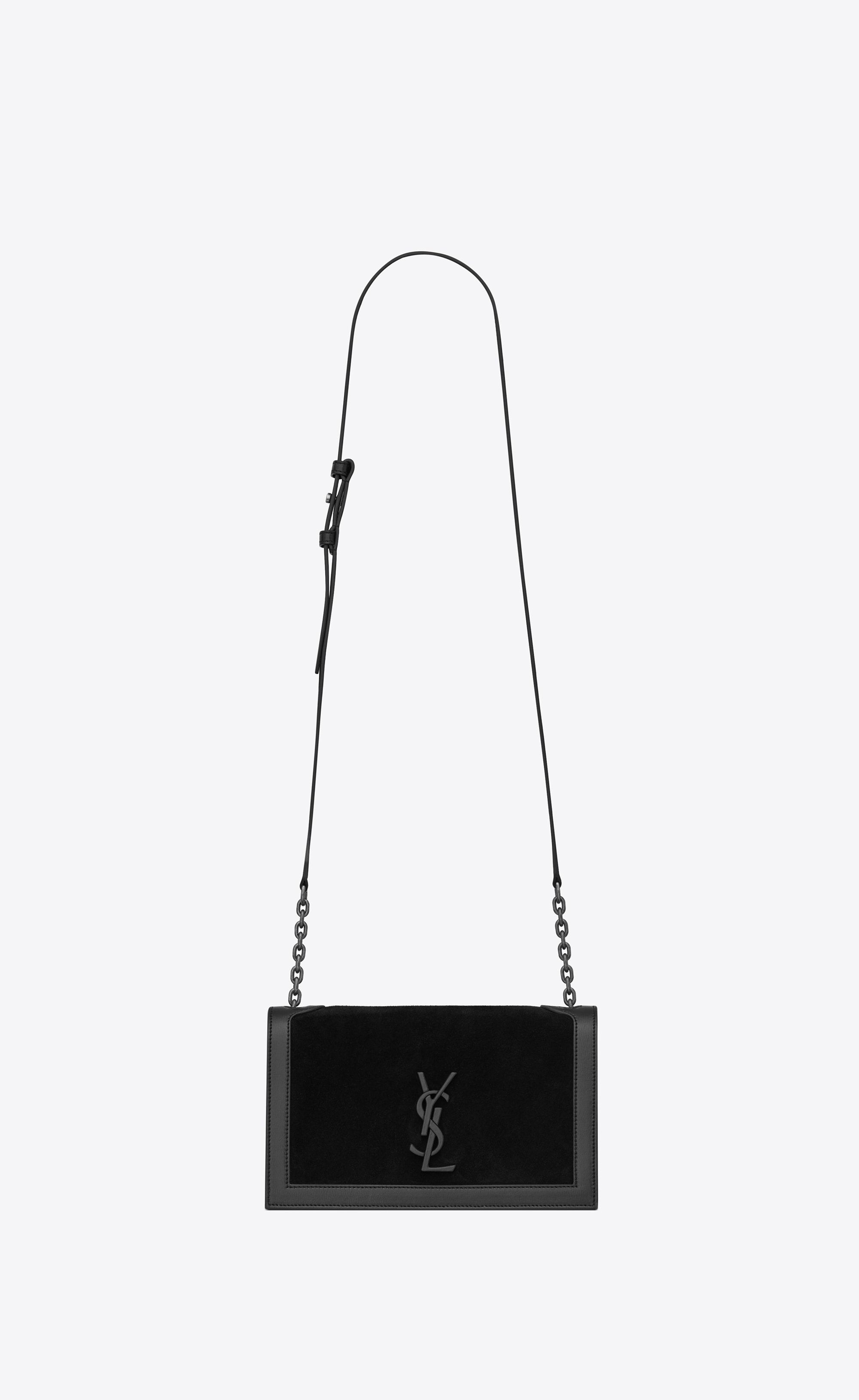 dfd32049ae8 Book Bag in leather and suede in 2019 | Handbags | Bags, Ysl bag ...
