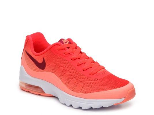 Women's Nike Air Max Invigor Sneaker - - Orange/White ...