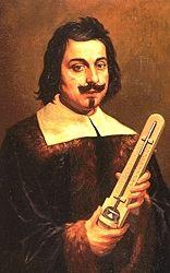 torricelli seorang penemu yang kontraversi pada zamannya. di zamannya orang mengangap bahwa tidak ada vacum tetapi torricelli berhasil menemukan vacum. penemuannya ini berkembang menjadi barometer.