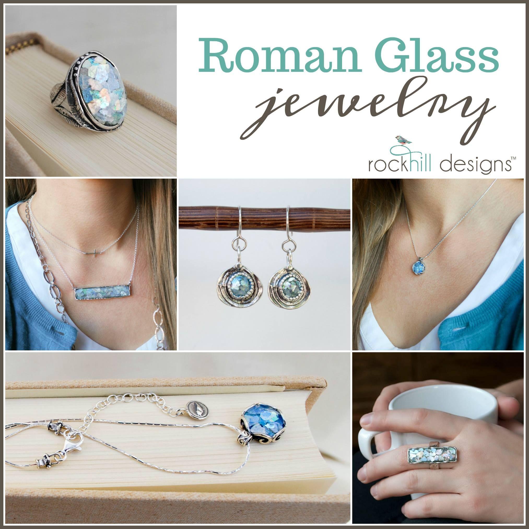 Rockhill Designs Com Parties 642 Roman Glass Jewelry Glass