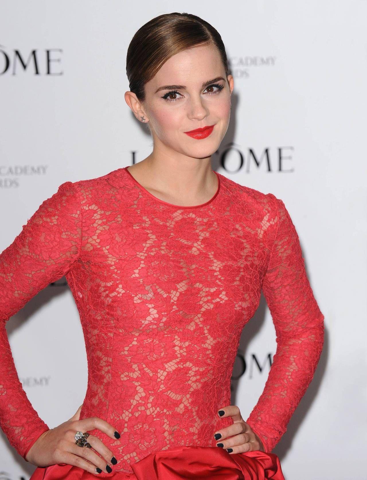Watch Emma Watson Nip Slip video