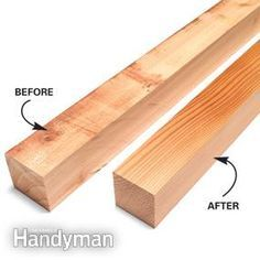 How to Use a Bench-Top Planer | The Family Handyman
