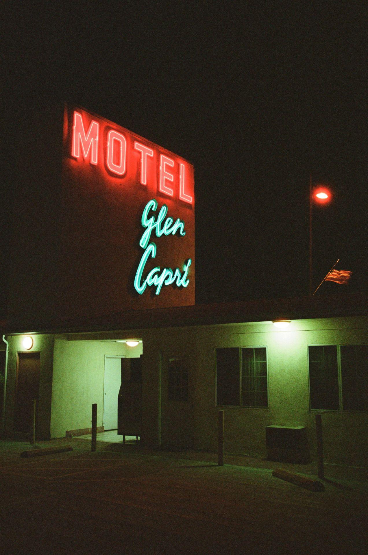 glen capri motel, burbank, california