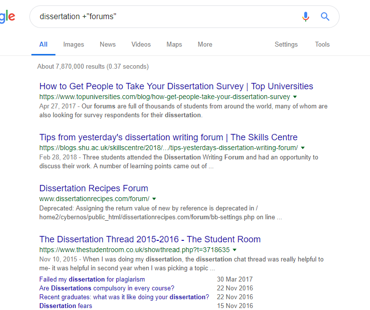 How To Choose A Dissertation Topic Student