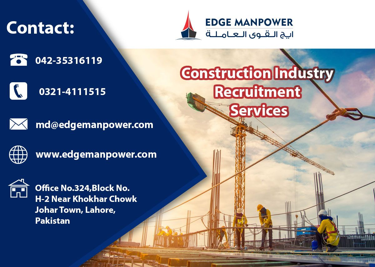Construction industry in gulf and pakistan in 2020