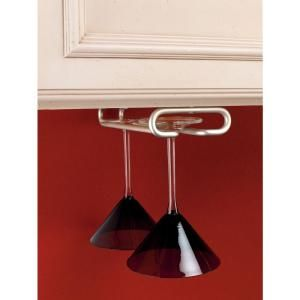 $6.54 Rev-A-Shelf 11 in. Satin Nickel Wine Glass Holder-3150-11SN at The Home Depot