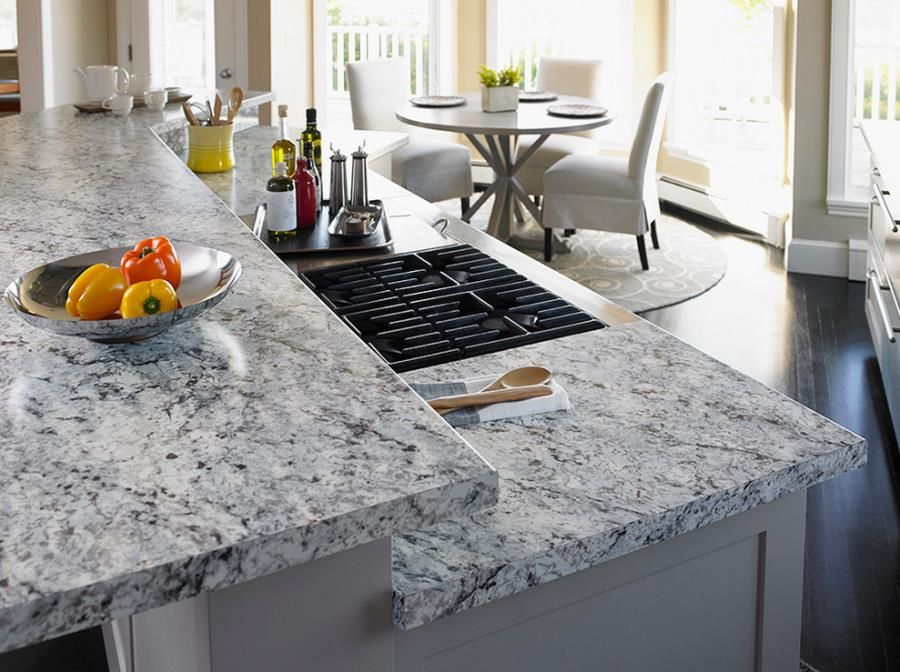 Countertop · White Ice Granite Formica ...