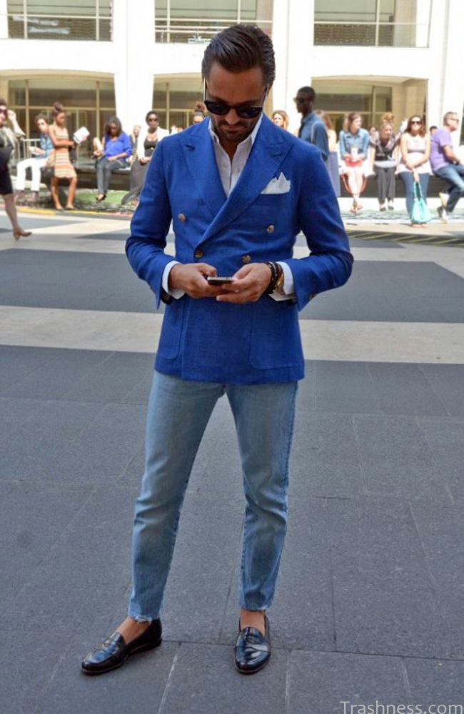 5 Hot Navy Blazers For Men | Saffluence | Style For The Guy ...