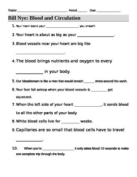 Worksheets Bill Nye Cells Worksheet bill nye cells video guide sheet student the ojays and this 14 question worksheet provides a way for students to follow along with nye