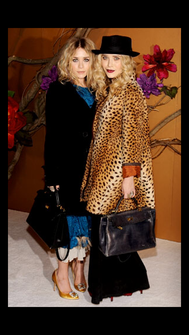 Leopard and hat