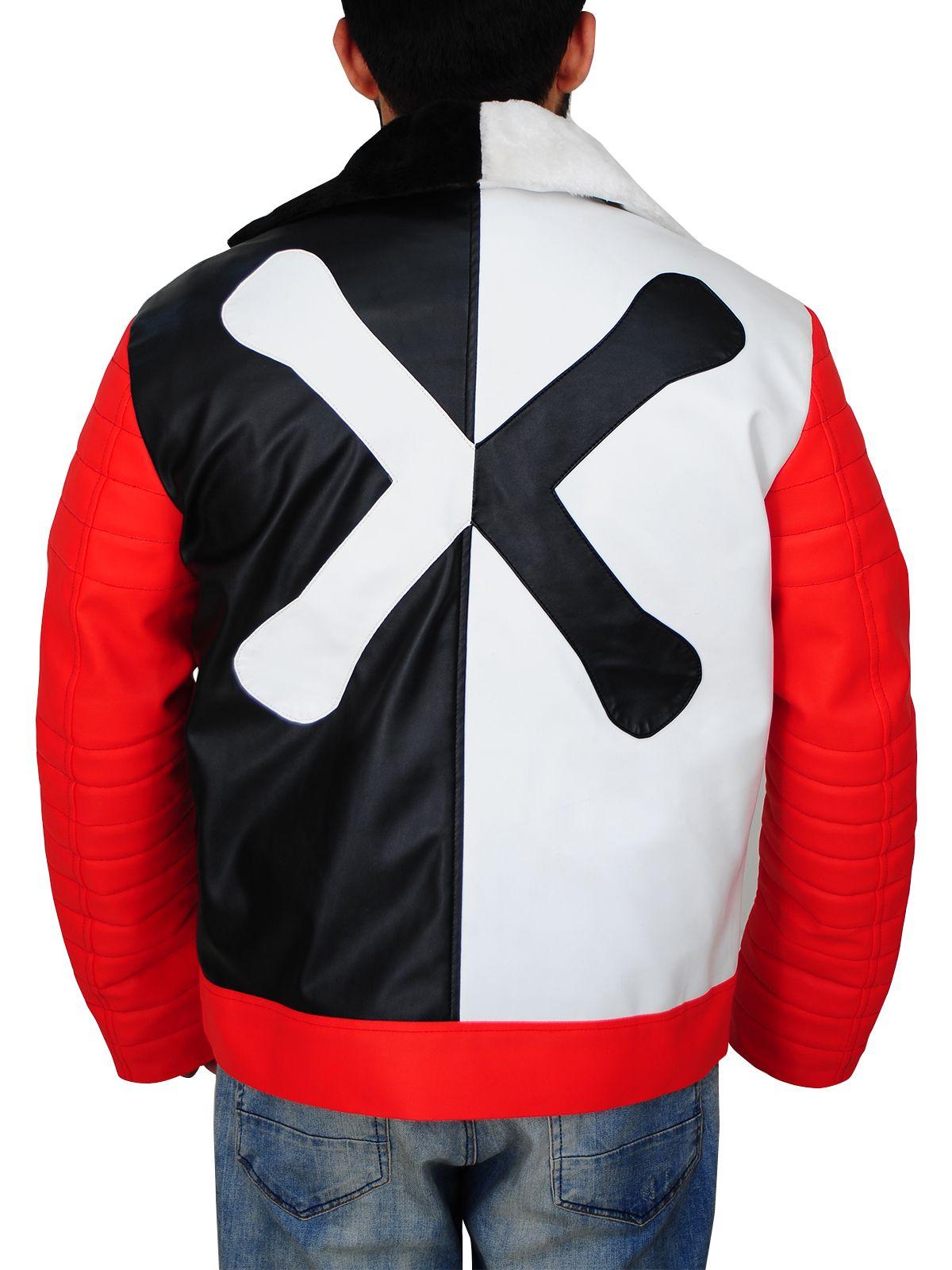 Removable Arms Distressed Carlos Cameron Boyce Descendants 2 Double Rider Jacket