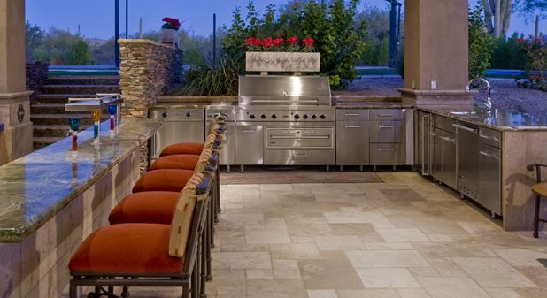Outdoor Single Burners Warming Drawers Prep Space And Grills All Available To Cus In 2020 Kitchen Ideas Center Kitchen Inspiration Modern Outdoor Kitchen Appliances