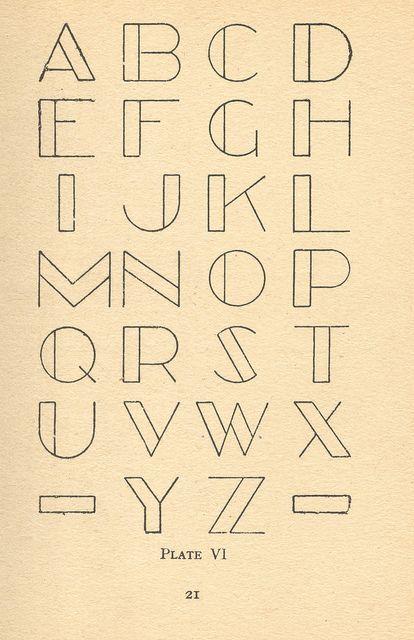 modern lettering 4 by pilllpat (agence eureka), via Flickr
