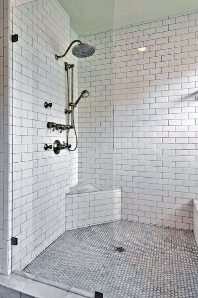 29 White Subway Tile Tub Surround Ideas And Pictures Bathroom Tub Shower Combo Bathroom Tub Shower Small Bathroom Remodel