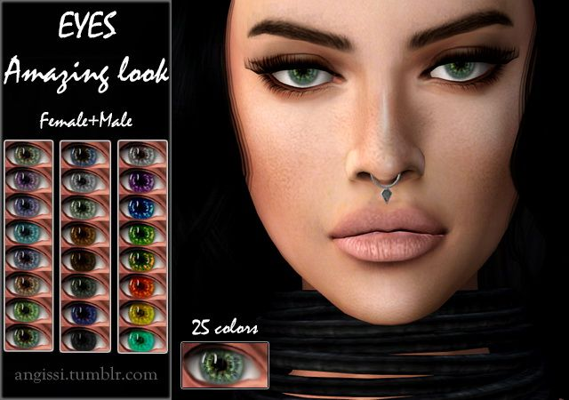 EYES 05 Amazing look at Angissi via Sims 4 Updates