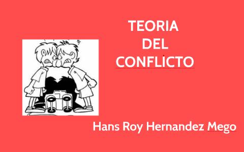 Teoria Del Conflicto Sociologia I Ciclo Conflicto Teoría