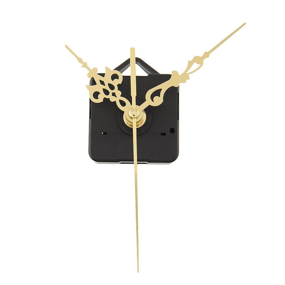 Luxury Charming Quartz Clock Movements Mechanism Parts Repair Making DIY Watch Tools with Gold Hands Quiet * Find out more about the great product at the image link.