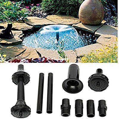 king do way kit de buse de fontaine en plastique jet d irrigation arrosage petite fontaine pour jardin extrieur tang bassins buse fontaine spray heads - Jet D Eau Pour Bassin Exterieur