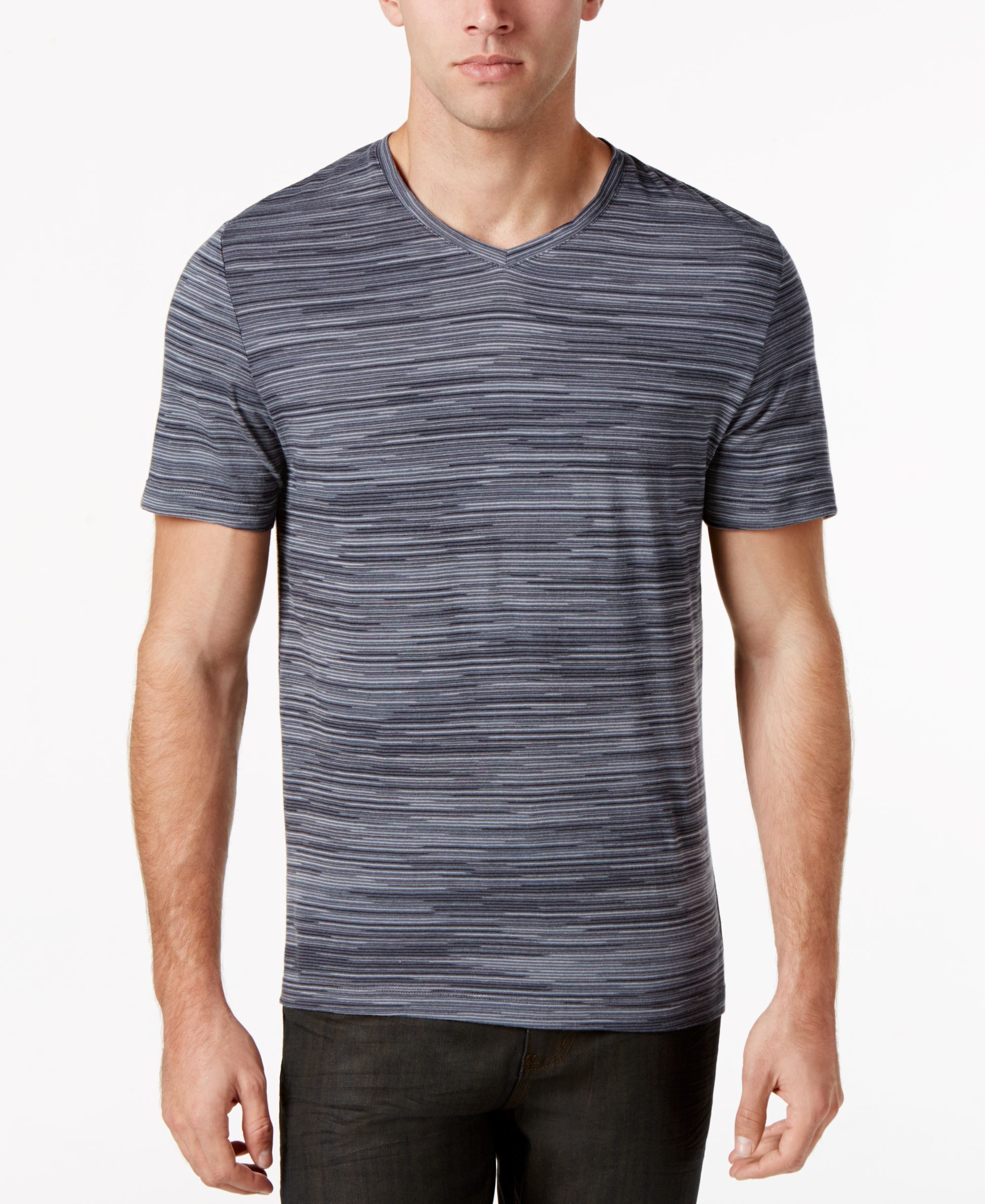 db4fb58382db Mens V Neck T Shirts At Macys