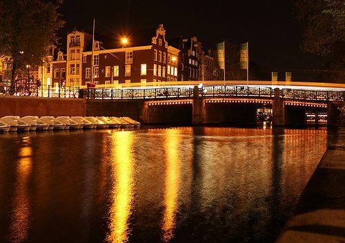 Night Photo Amsterdam