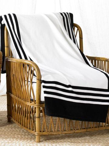 Art Deco Frame Beach Towel Ralph Lauren Home Beach Towels