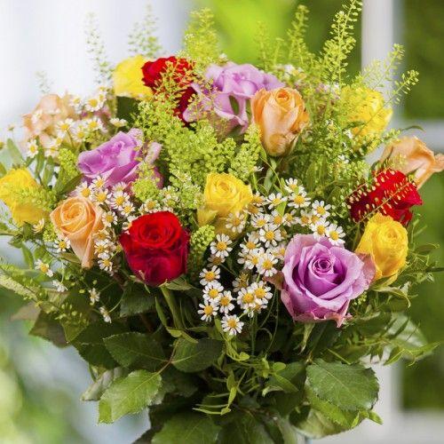 Blumenstrauß Großes Dankeschön Höhe 50cm Ø 40cm