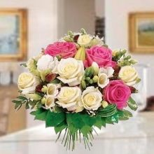 Bouquet Rose Chiare Fiori Bouquet