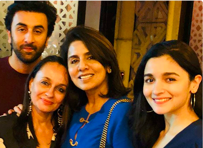 yes Alia Bhatt and Ranbir Kapoor this lovely couple is ...