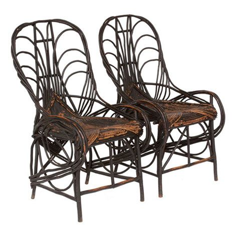 past & present: twig furniture history
