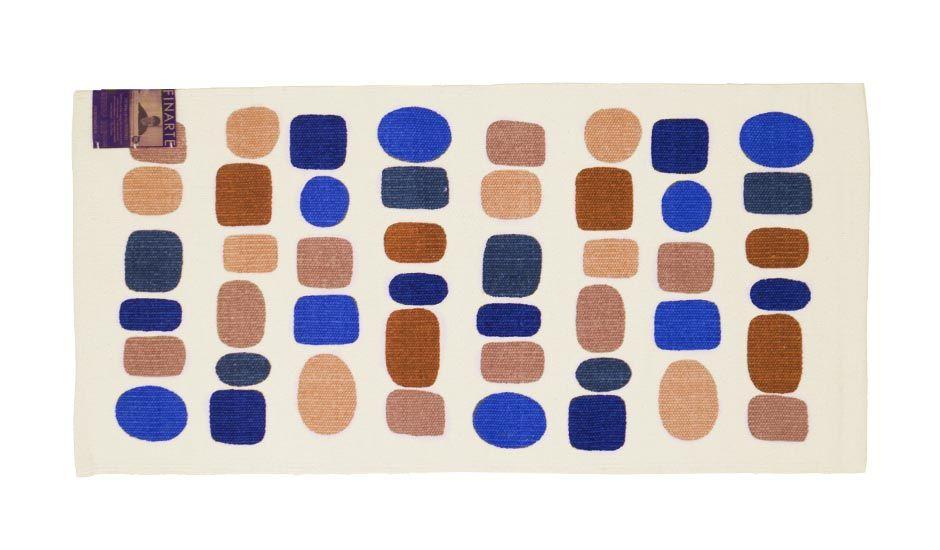 MONOQI   60x120 Huvitus Teppich - Blau