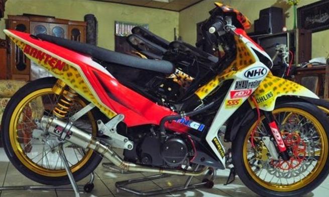 Modifikasi Supra X 125 Road Race Road Racing Racing Honda