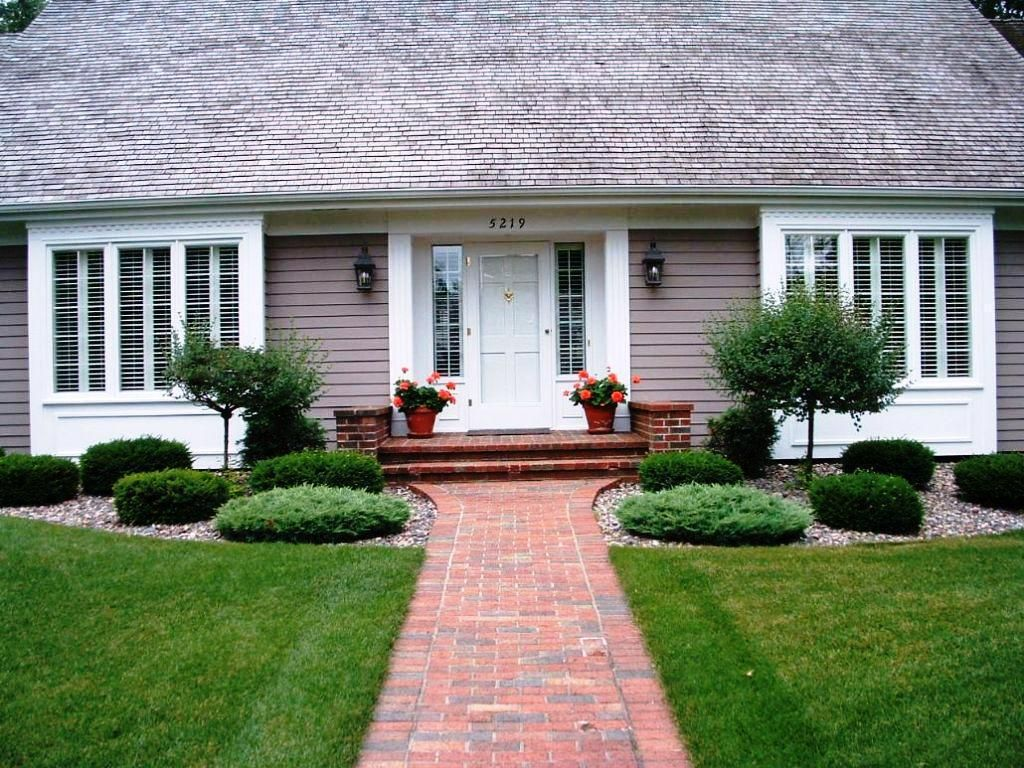 Low Maintenance Landscape Ideas Curb Appeal Front Doors