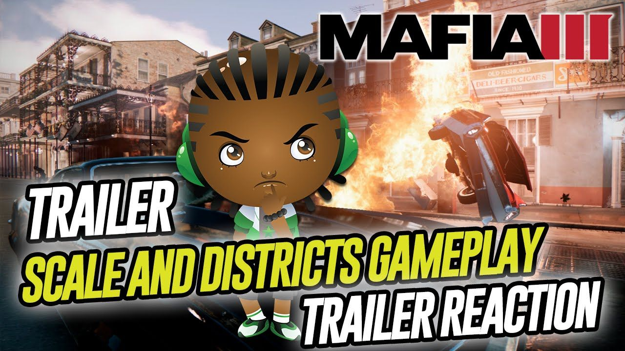 Mafia 3 World Of New Bordeaux Scale And Districts Ps4 Xbox One